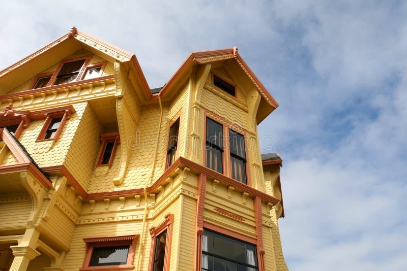 Vivid Historic Home royalty free stock photo