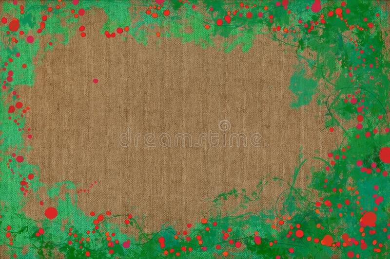 Vivid joyful painting background texture with dynamic patterns and vibrant colors. stock photography