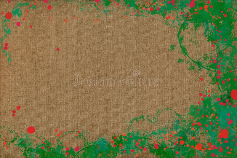 Vivid joyful painting background texture with dynamic patterns and vibrant colors. stock image