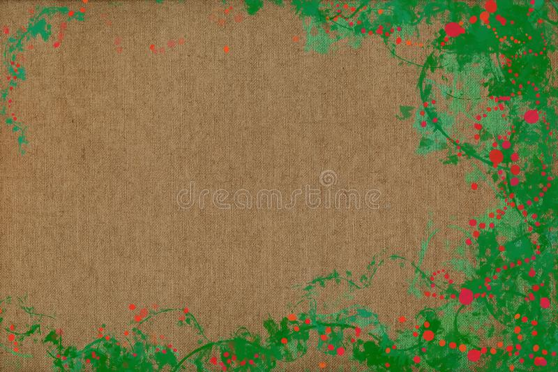 Vivid joyful painting background texture with dynamic patterns and vibrant colors. stock photos