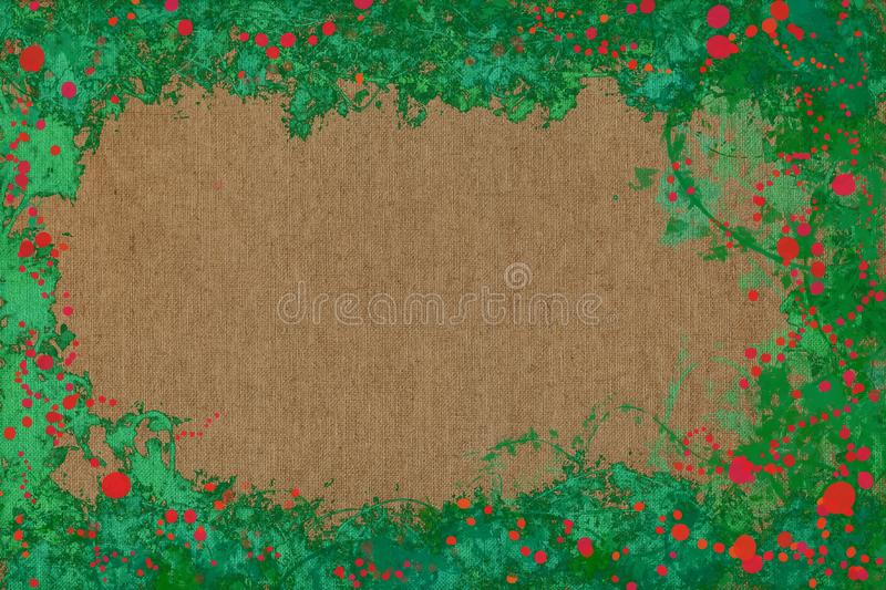 Vivid joyful painting background texture with dynamic patterns and vibrant colors. royalty free stock photos