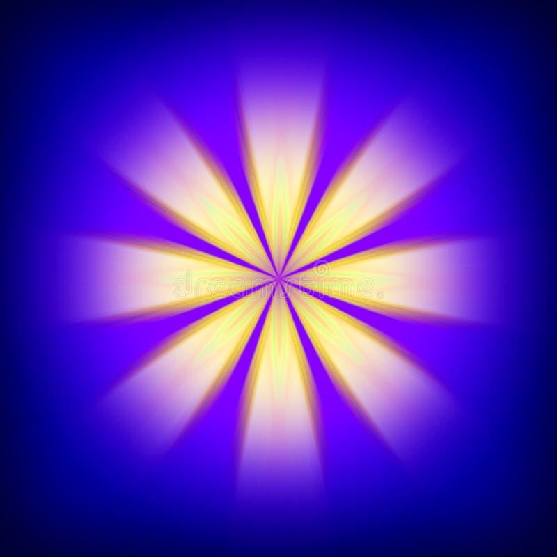 Vivid light burst background stock photo