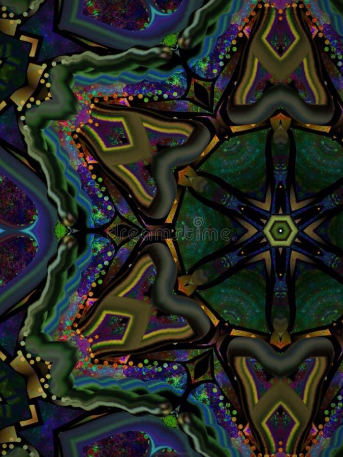 Vivid multi color royalty free stock photo