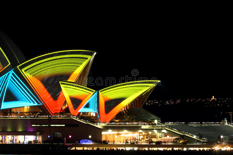 Download Vivid Opera House editorial photo. Image of building - 19682381