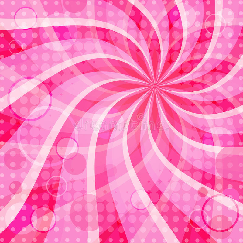 Download Vivid pink background stock vector. Illustration of radiate - 13957694