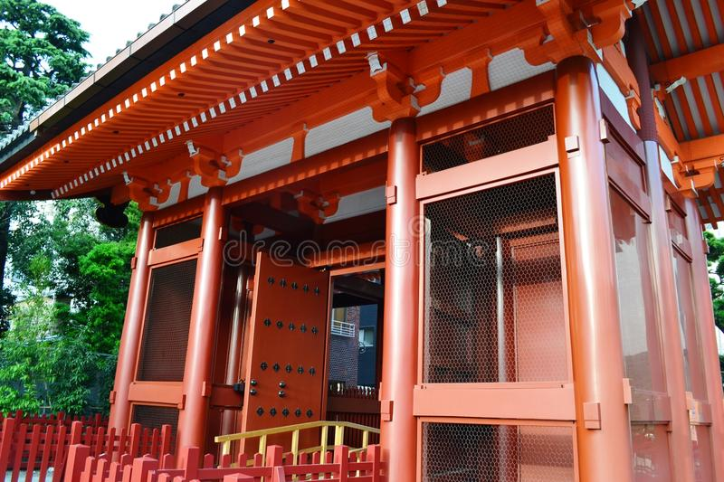 Download A Vivid Red Gate stock photo. Image of exit, tokyo, shrine - 24237072