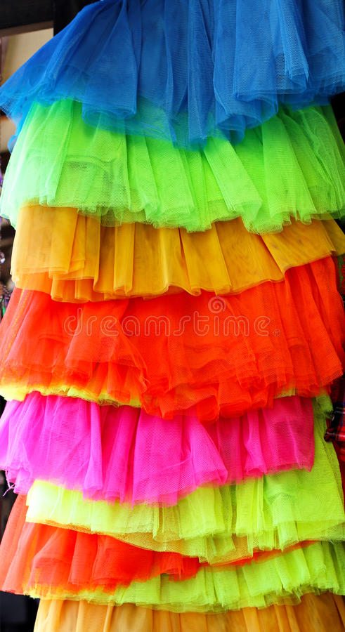 Download Vivid skirts stock photo. Image of saturated, modern - 27345354