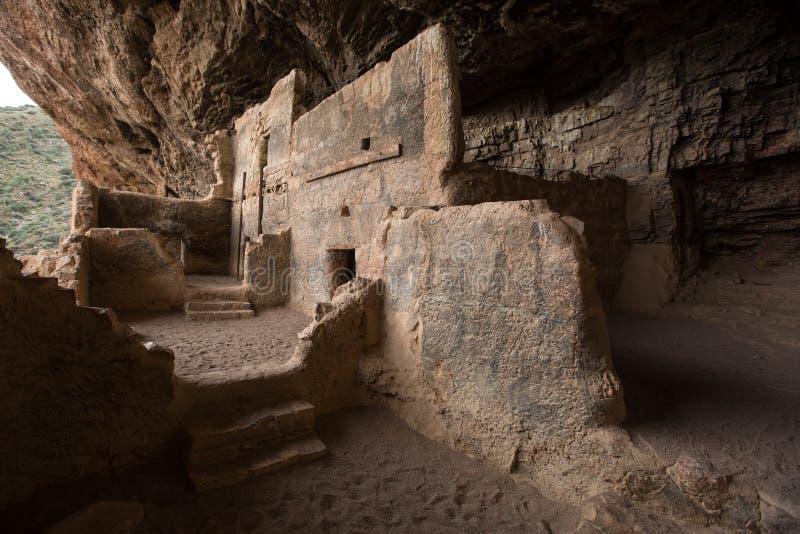 Vivienda de acantilado de Tonto en Arizona fotografía de archivo libre de regalías