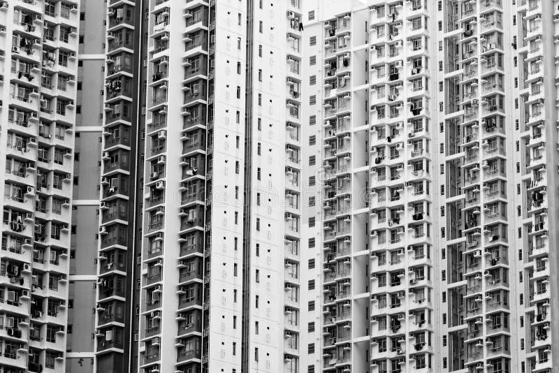 Vivienda de alta densidad apretada fotos de archivo libres de regalías