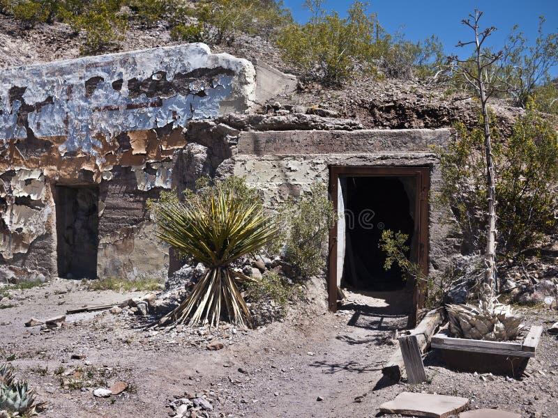 Vivienda inusual del desierto foto de archivo