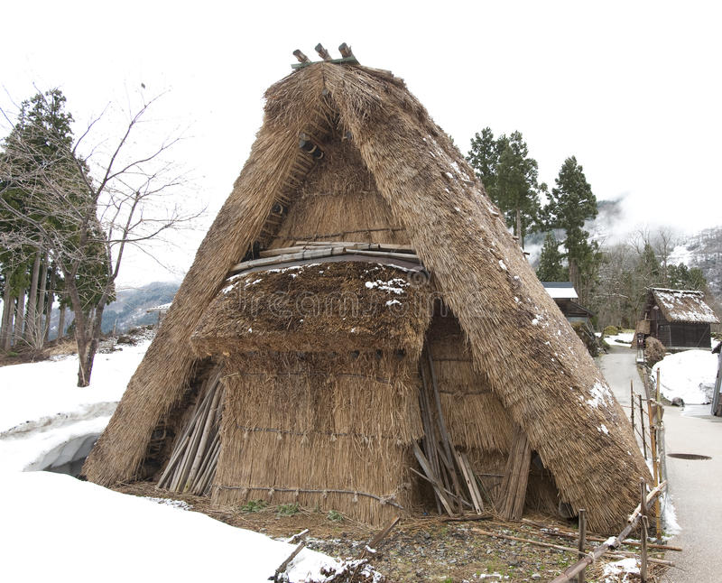 Vivienda japonesa antigua imagen de archivo