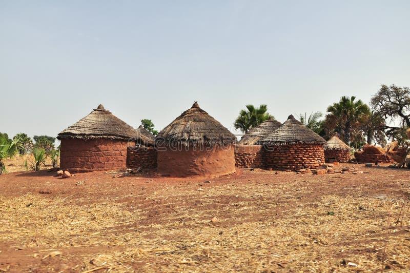 Vivienda rural en África fotos de archivo libres de regalías
