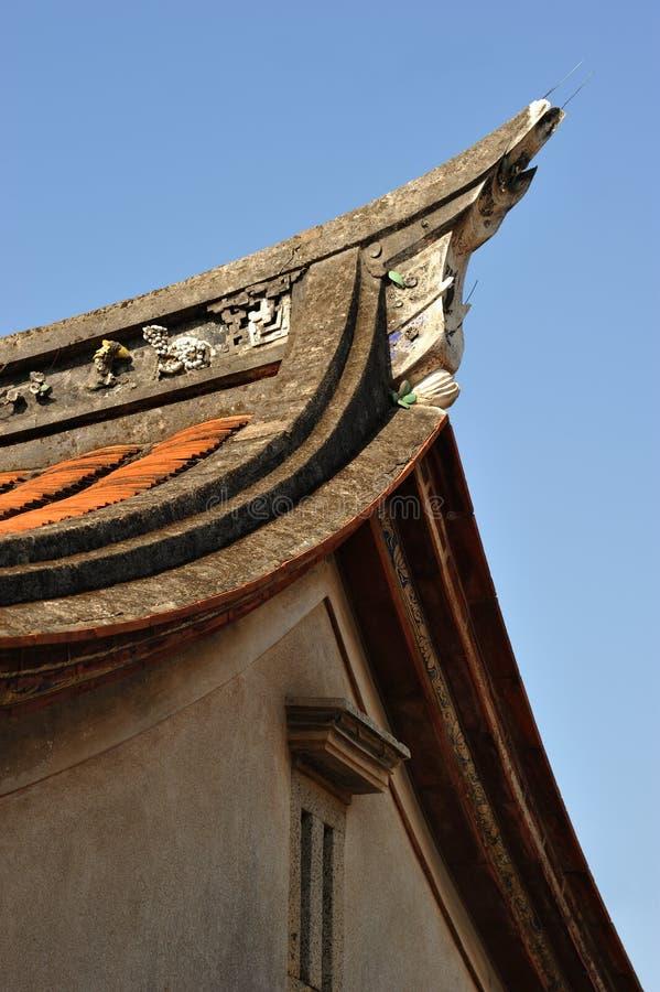 Viviendas de Fujian fotografía de archivo