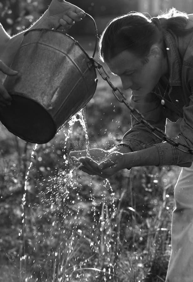 vivifying вода стоковая фотография rf
