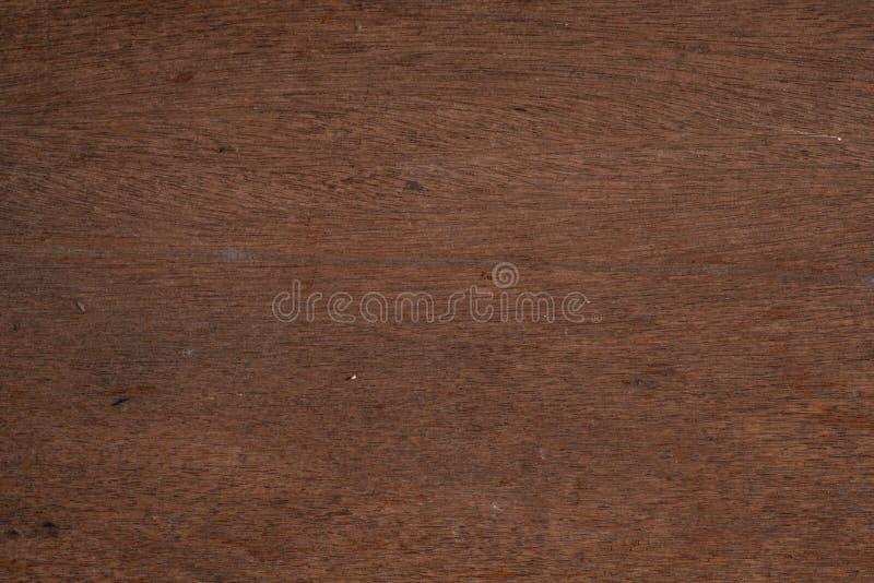 Viwe superior da textura de madeira velha, marrom escuro natural de madeira para a parte traseira fotos de stock royalty free