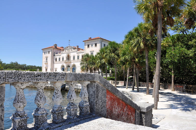 Download Vizcaya House stock image. Image of historic, museum - 26731019