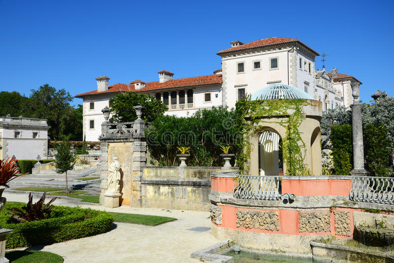 Download Vizcaya in Miami, USA stock image. Image of grand, italy - 28382419