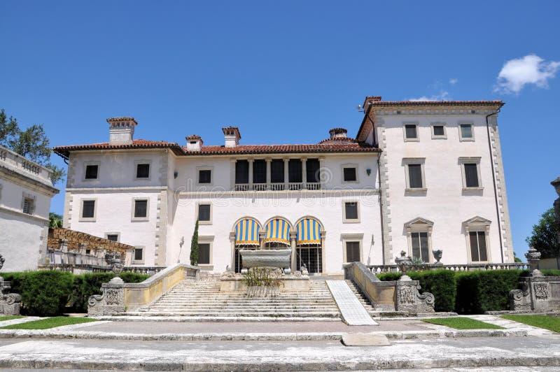 Vizcaya-Museum stockfotografie