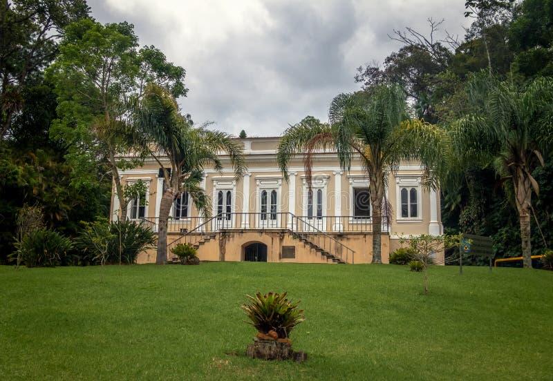 Vizconde de la casa de Maua o Visconde de Maua Casa DA Educacao - Petropolis, Rio de Janeiro, el Brasil foto de archivo