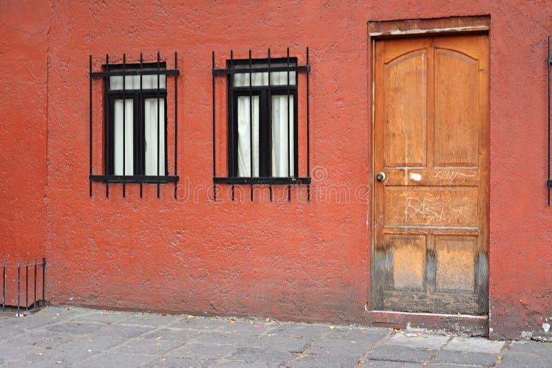 Vizinhança de Coyoacan, Cidade do México fotos de stock royalty free