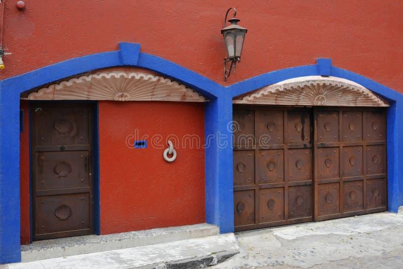 Vizinhança de Coyoacan, Cidade do México imagem de stock royalty free