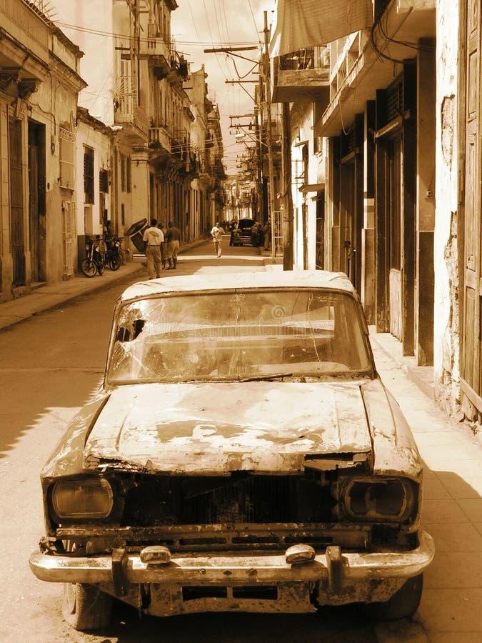 Vizinhança de Havana foto de stock royalty free