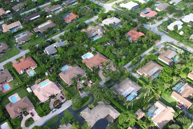 Vizinhança de Miami fotos de stock royalty free