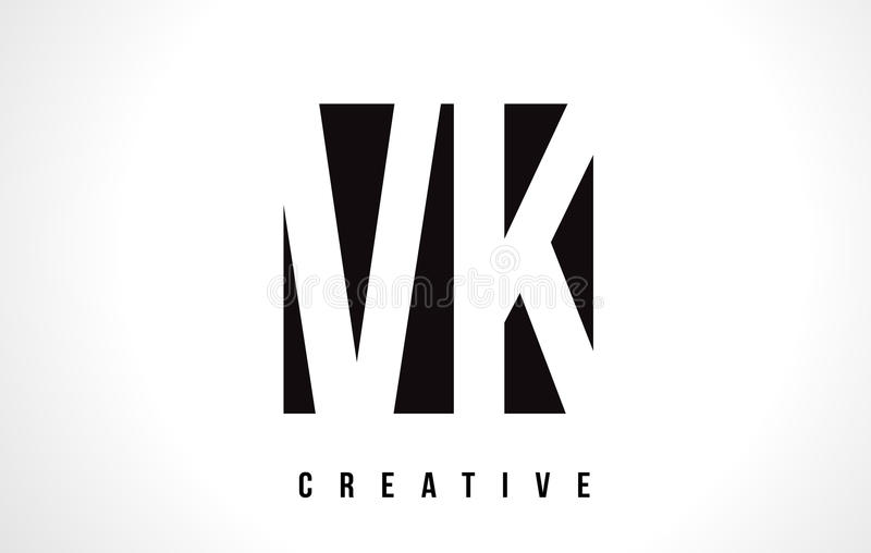 Vk v k white letter logo design with black square stock vector download vk v k white letter logo design with black square stock vector illustration of toneelgroepblik Gallery