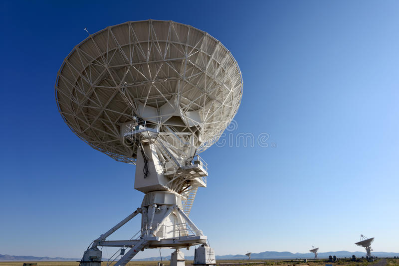 Download VLA radio telescope stock image. Image of equipment, communication - 26408015