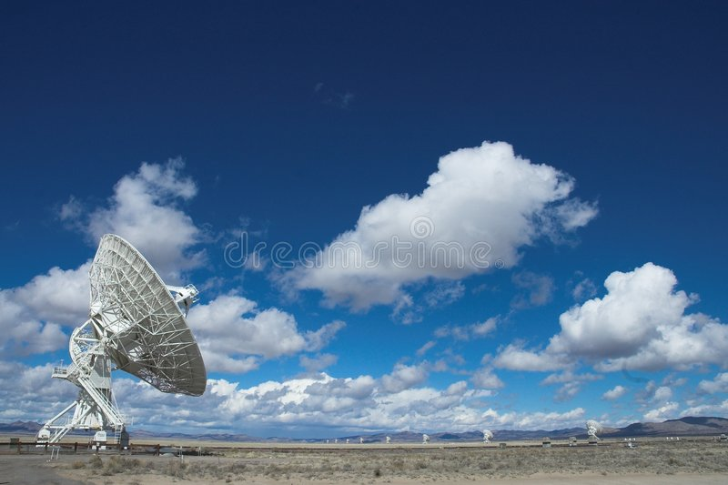 VLA sehr große Reihe lizenzfreie stockbilder