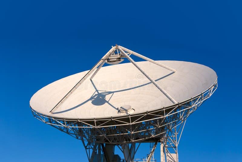 VLA Very Large Array radio telescope. Dishes facing up stock photos