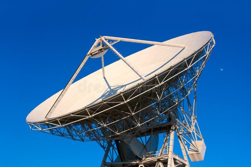 VLA Very Large Array radio telescope. Dishes facing up royalty free stock photo