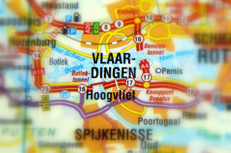 Vlaardingen, Nederland - Europa stock afbeelding
