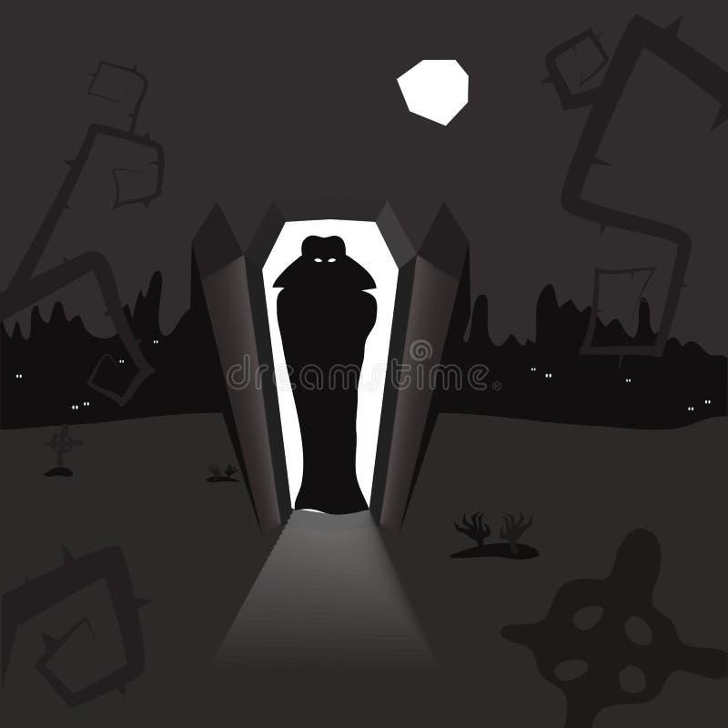 Vlad-Vampir vektor abbildung