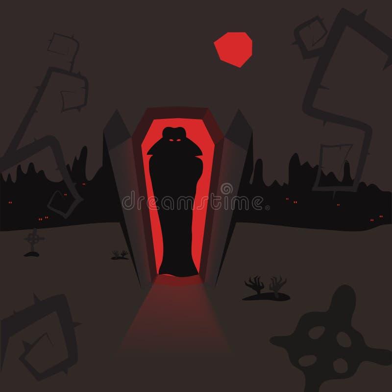 Vlad-Vampir lizenzfreie abbildung