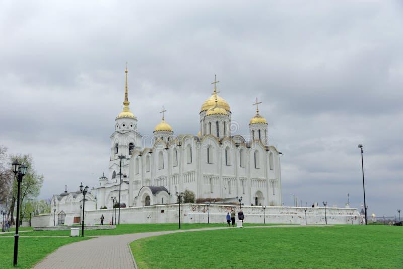 vladimir России - 6-ое мая 2018 Собор предположения собора Владимир святой стоковая фотография