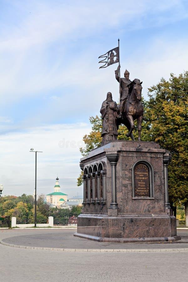 vladimir России собора uspensky стоковые изображения rf