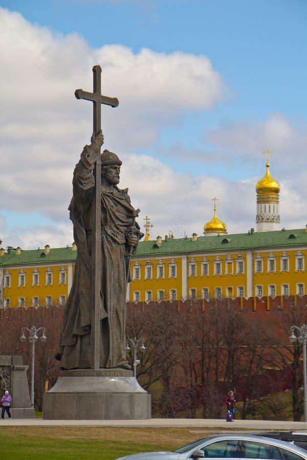 Vladimir le grand image stock