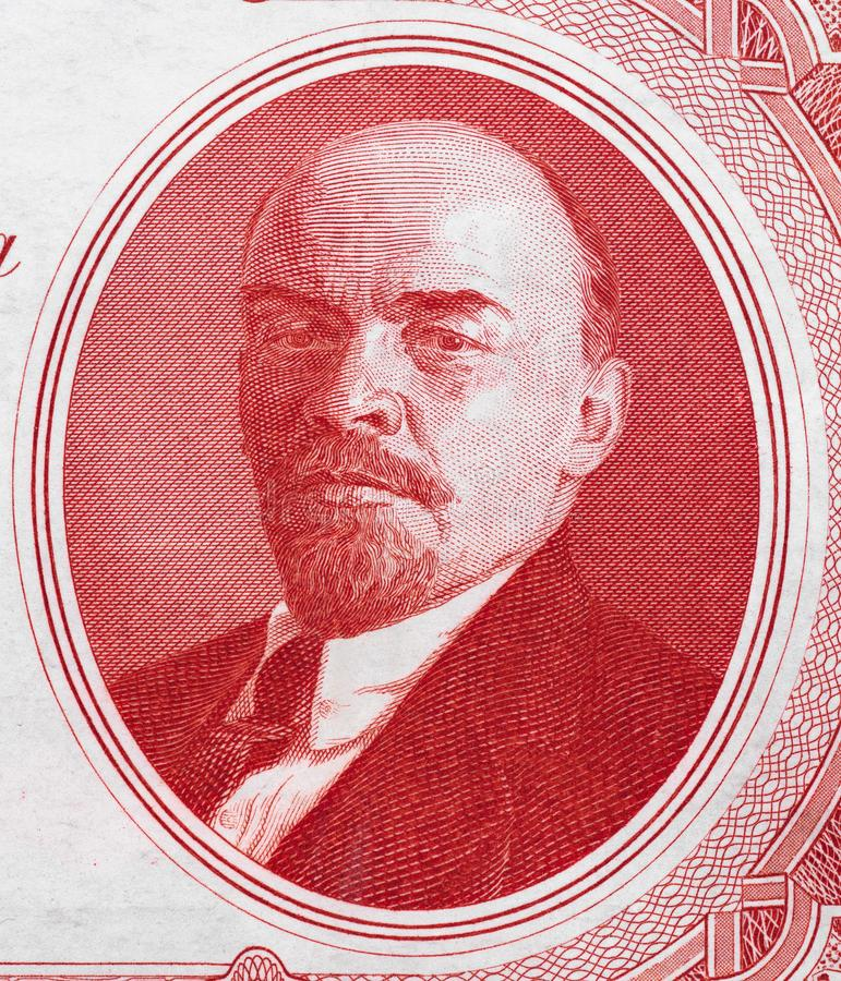 Free Vladimir Lenin Portrait On Russia 3 Rouble 1937 Banknote Close Royalty Free Stock Photos - 100540288