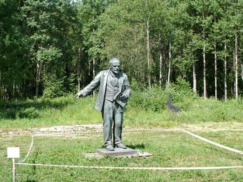 Vladimir Lenin un monument abandonné photos stock