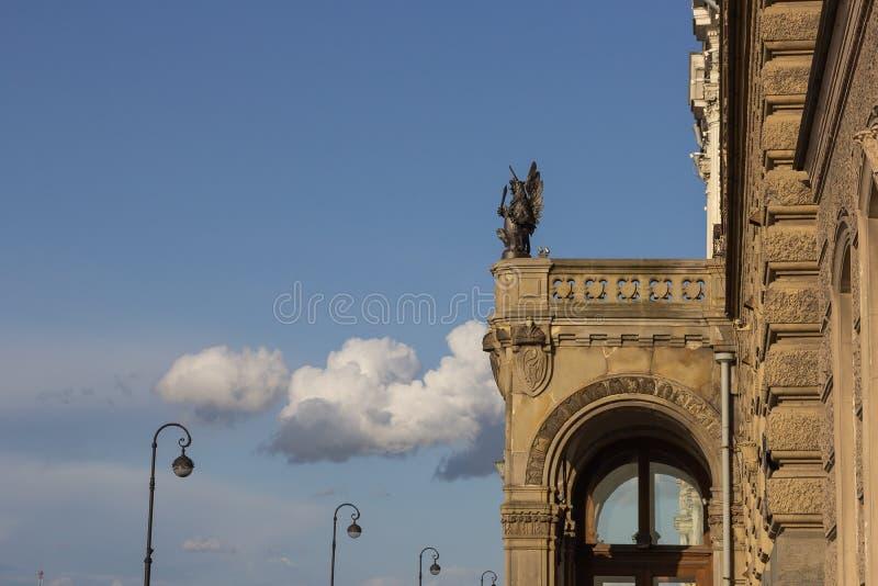 Vladimir Palace - Europese architectuur - historische gevel royalty-vrije stock fotografie