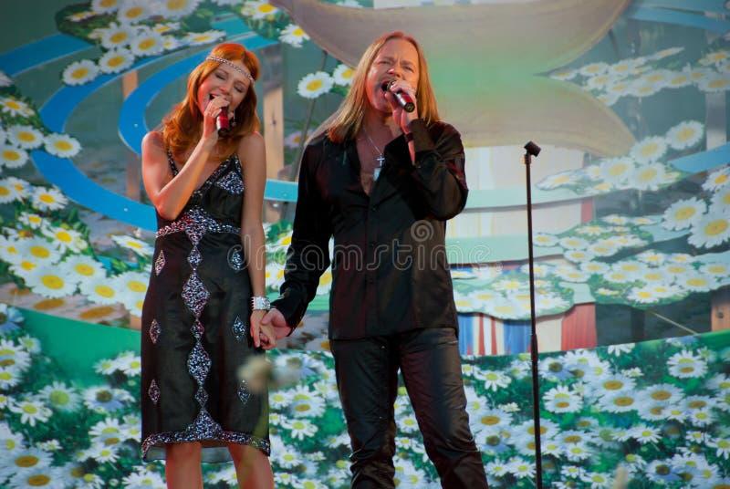 Download Vladimir Presnjakov I Natal'ja Podol'skaja Editorial Photo - Image of event, blues: 15337586