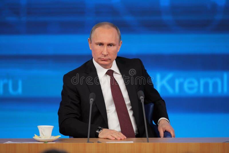Vladimir Putin royalty-vrije stock afbeeldingen