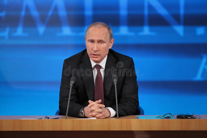 Vladimir Putin arkivbilder