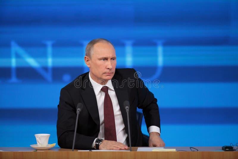 Vladimir Putin royalty-vrije stock afbeelding