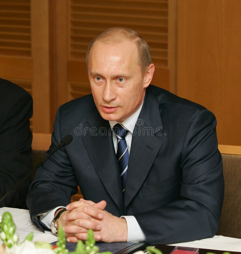 Download Vladimir Putin editorial stock image. Image of authoritarian - 4211269