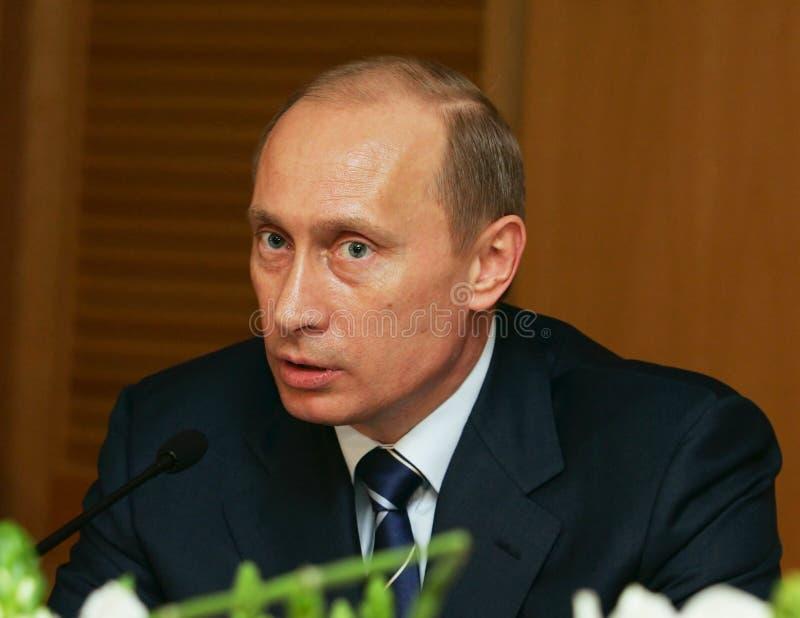 Vladimir Putin. President of Russia Vladimir Putin at a meeting with veterans Great Patriotic War royalty free stock photography
