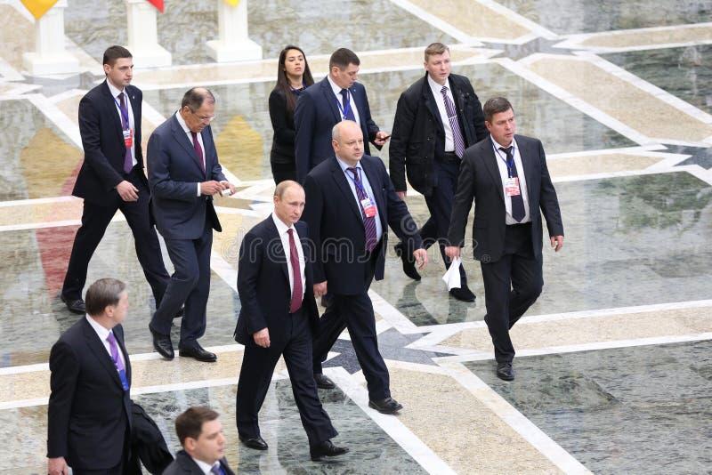 Vladimir Putin fotografie stock libere da diritti