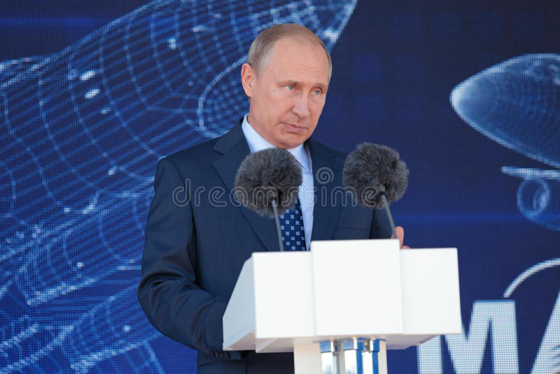 Vladimir Putin 免版税图库摄影