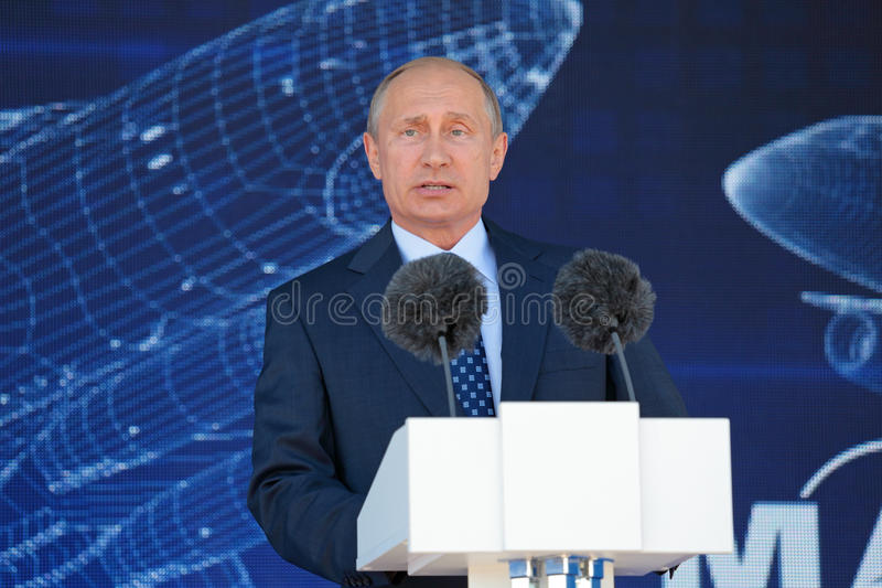 Vladimir Putin zdjęcia royalty free
